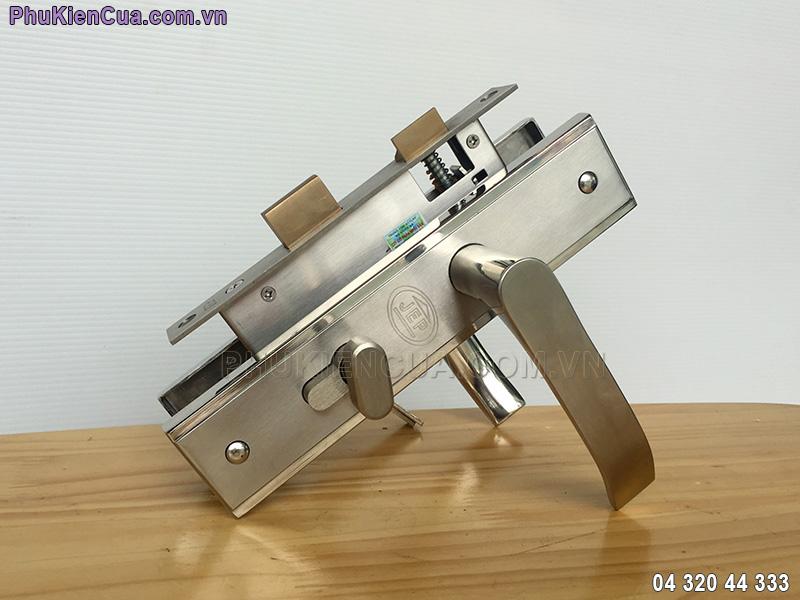 Khóa tay gạt cửa gỗ thông phòng JEP MC48
