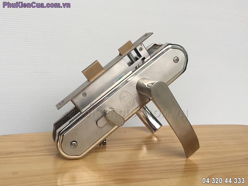 Khóa cửa gỗ tay gạt inox JEP MC22
