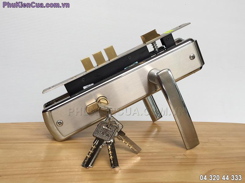 Khóa cửa tay gạt Huy Hoàng EX8518