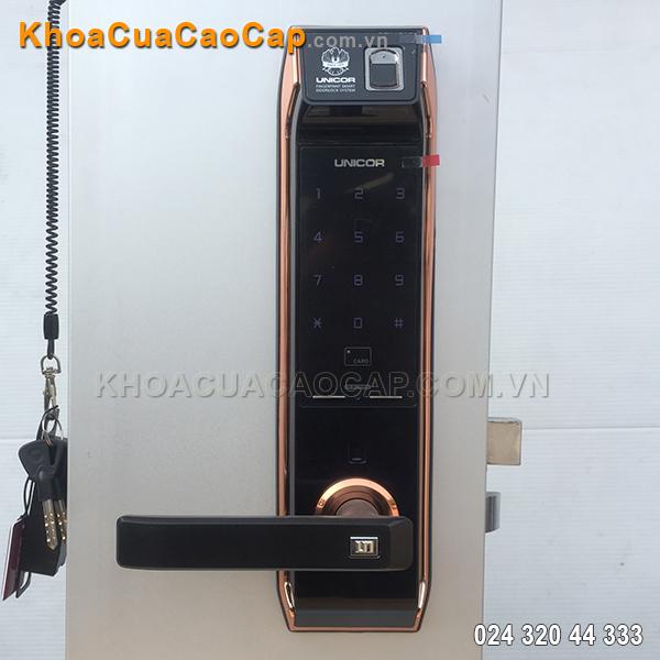 Khóa cửa vân tay Hàn Quốc UN-9000