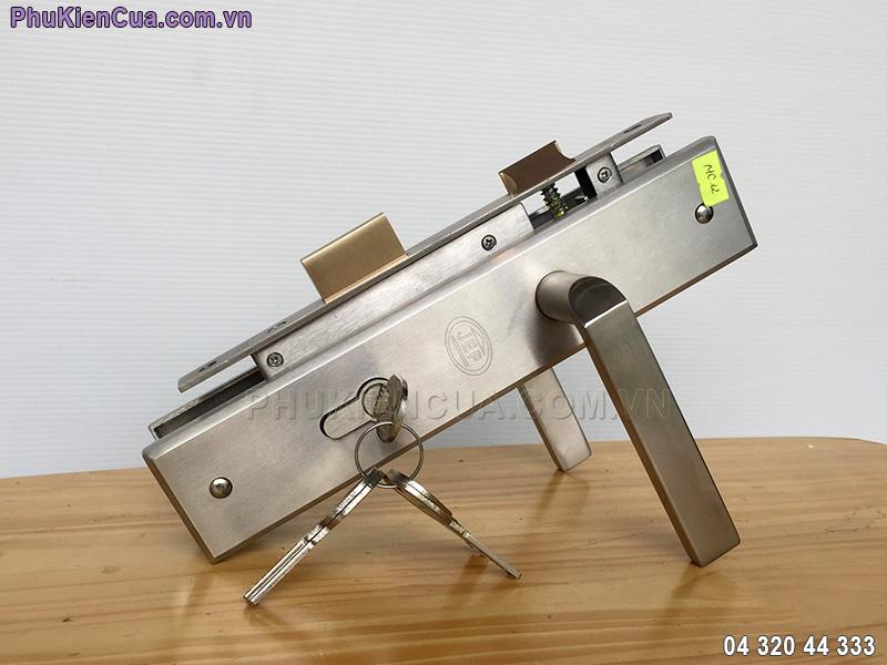 Khóa tay gạt cửa sắt chống cháy JEP MC12