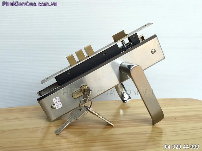 Khóa tay gạt Huy Hoàng EX8510